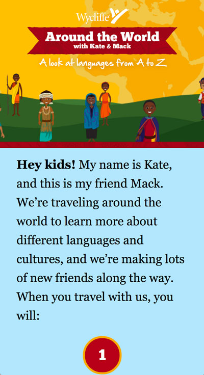 Around the World with Kate & Mack Mobile